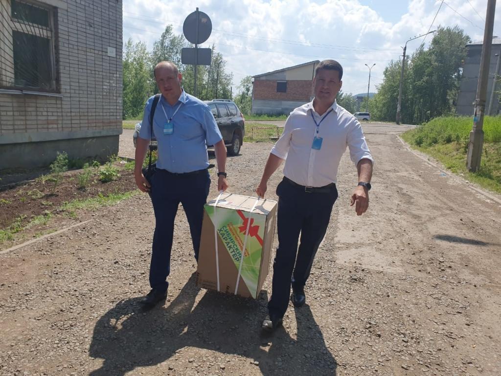 Андрей Чернышев: Анализатор крови нового поколения доставлен в Железногорскую районную больницу (видео)