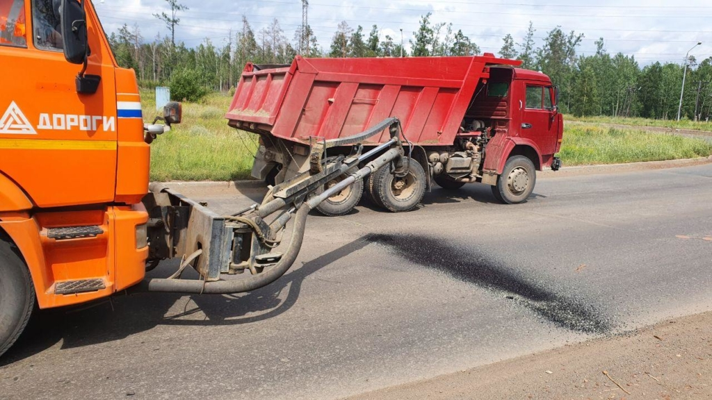 В Братске ФКУ Упрдор «Прибайкалье» приступило к работам по содержанию участков федеральной трассы «Вилюй»