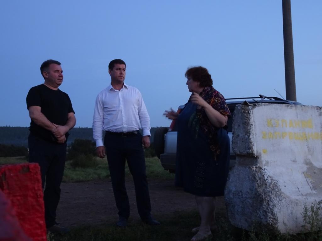 Андрей Чернышев: Глава региона поручил создать рабочую группу по решению проблем села Кузнецовка Братского района