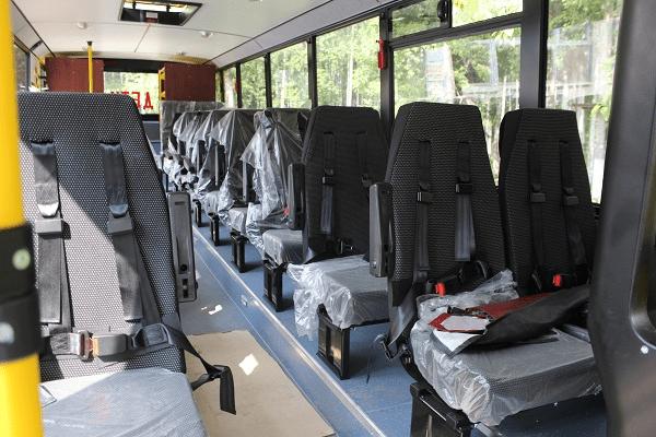 Автобус для школьников Усть-Илимска. Город получил подарок от Группы «Илим»
