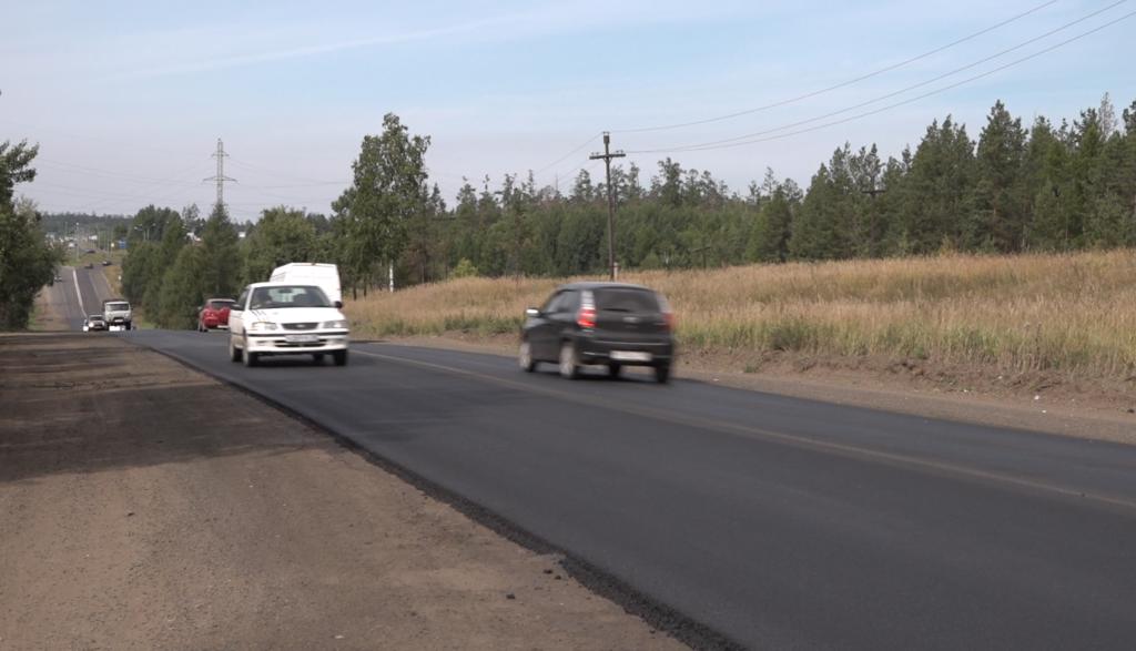 В Братске отремонтировали проблемный участок автодороги возле Усть-Илимского кольца