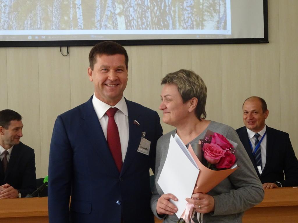 Врачи Братской районной больницы получили благодарности главы региона Игоря Кобзева и депутата Госдумы Андрея Чернышева