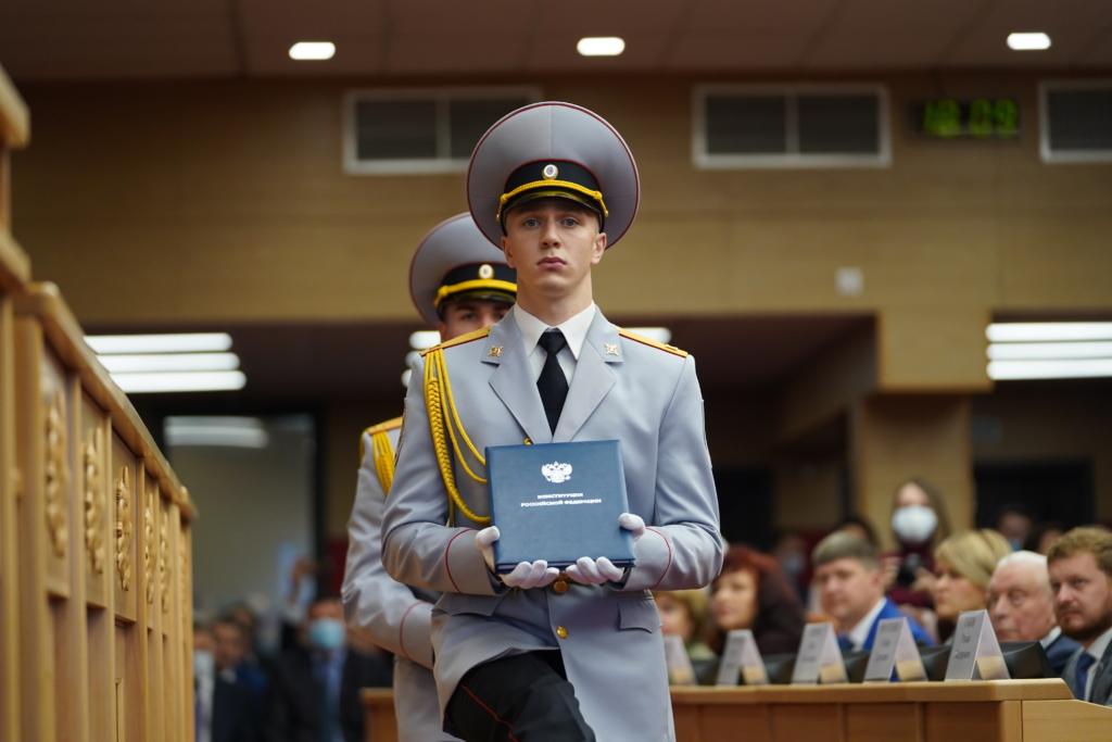Игорь Кобзев вступил в должность губернатора Иркутской области