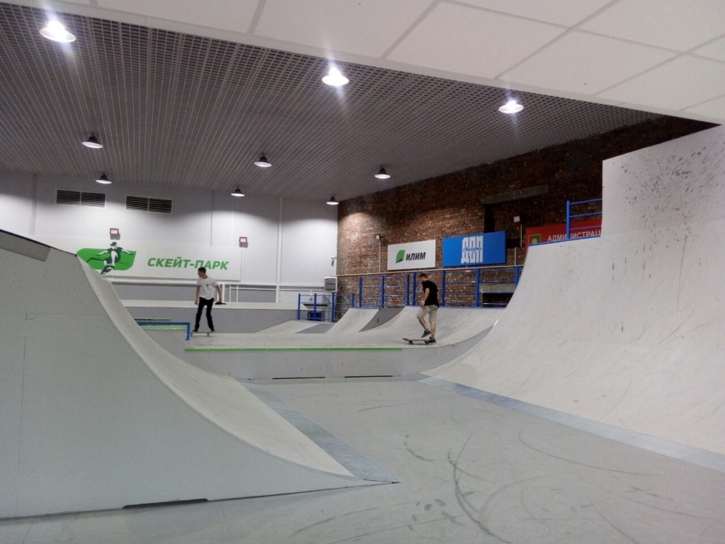 BMX, скейтбординг, самокатный спорт. После долгого перерыва в Братске открыл свои двери скейт-парк
