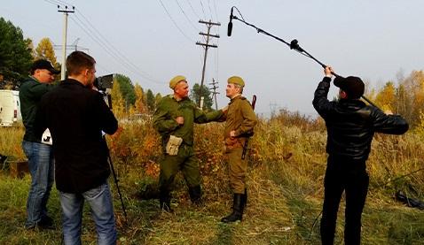 В Усть-Илимске сняли военно-историческую реконструкцию Севастопольской битвы