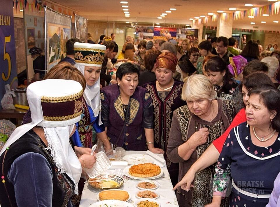 Город народов мира. 20 сентября Братск принимает гостей фестиваля национальных культур