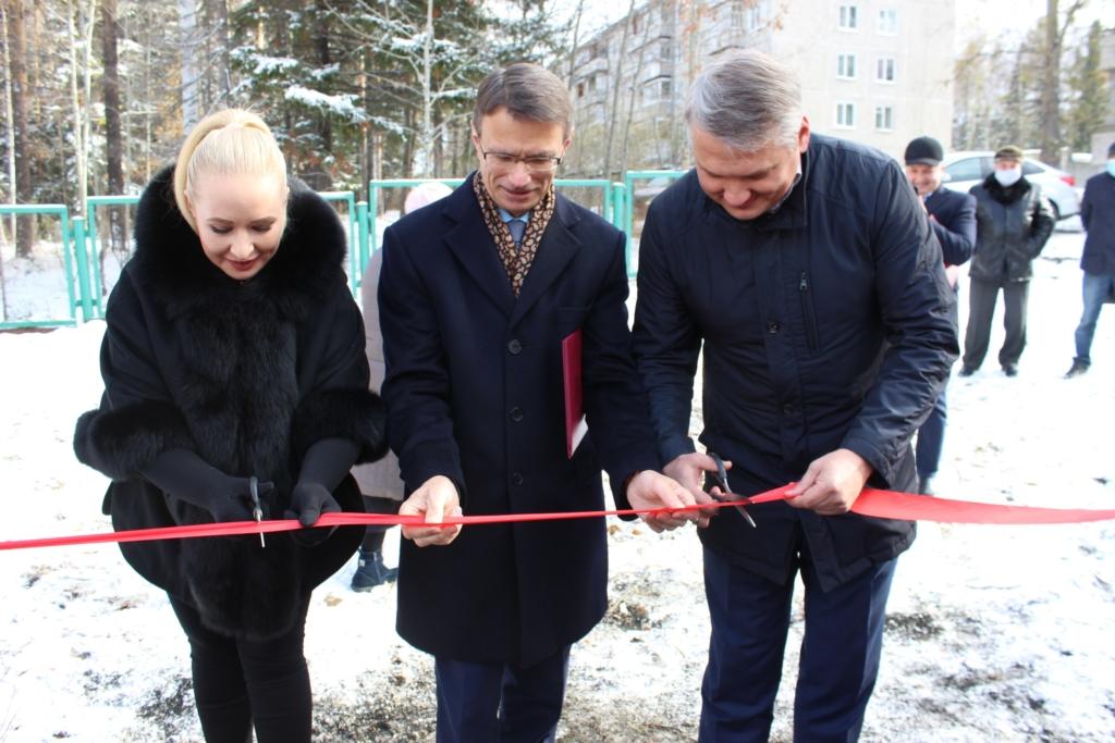 В Усть-Илимске установили детский игровой комплекс за 5 млн рублей