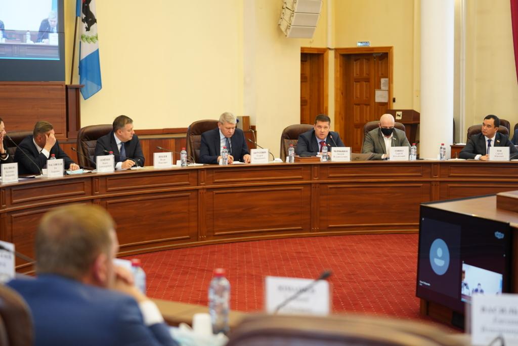 Сенатор Андрей Чернышев обратился к участникам Общего собрания членов Ассоциации муниципальных образований Иркутской области