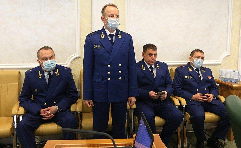 Сенатор Андрей Чернышев обозначил проблемы, требующие особого внимания будущего прокурора Иркутской области
