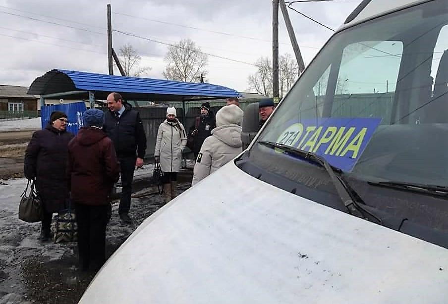 В Братском районе открыли два новых автобусных маршрута