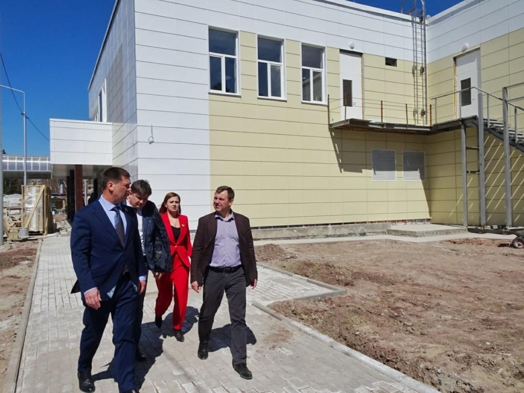 Андрей Чернышев: Скоро бассейн Братского университета примет первых посетителей