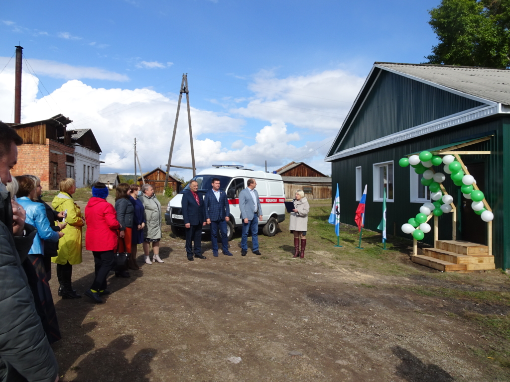 В селе Калтук Братского района завершен ремонт помещения для станции скорой помощи