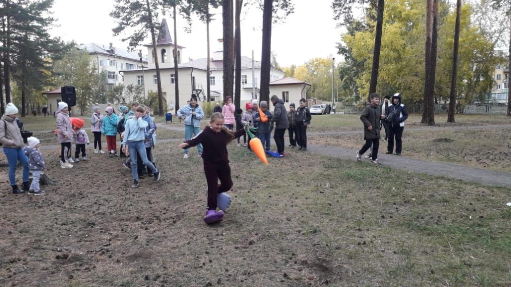 Фонд «Сибирский Характер» провел детский спортивный праздник